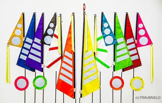 Bikeflag Sammlung