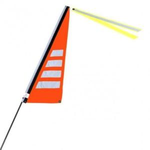 Wimpel m neon orange