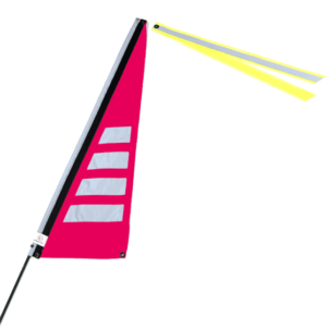 Wimpel m neon pink