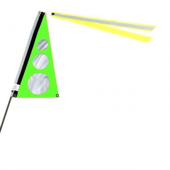Wimpel S Neon Gruen