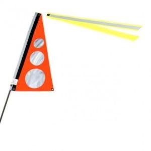 Wimpel S Neon orange